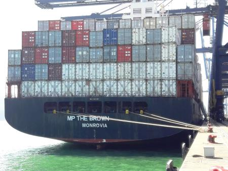 Container Ship MP THE BROWN